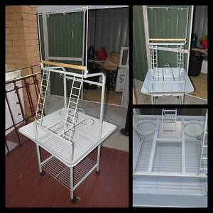 BIRD PLAY STAND ON WHEELS - SMALL/MEDIUM PARROT Capalaba Brisbane South East Preview