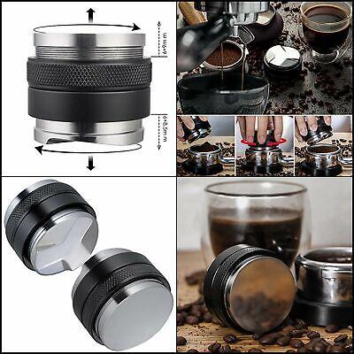 58mm Coffee Distributor & Tamper, MATOW Dual Head Coffee Leveler Fits