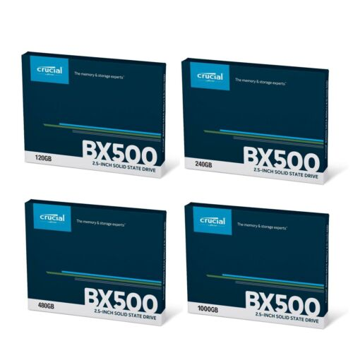 Crucial 2TB 1TB 480GB 240GB SSD SATA III 2.5-inch Internal Solid State Drive 7mm