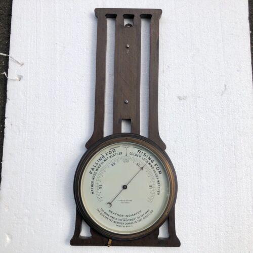 Antique EJ Arnold Weather Forecaster