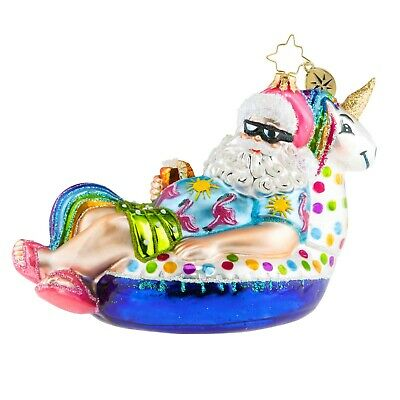 [Christopher Radko - FLOATING THROUGH THE HOLIDAYS Christmas Ornament 1019558</Title]