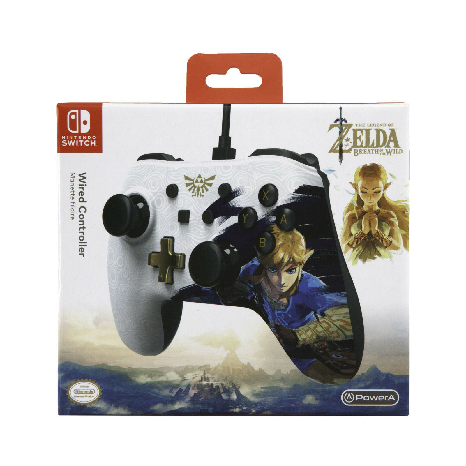Details about PowerA Wired Controller 8ft USB Cable for Nintendo Switch -  Legend of Zelda