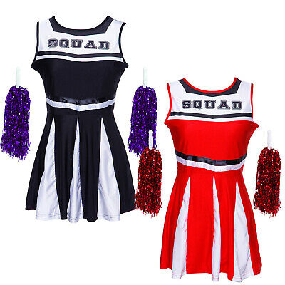 Fest Cheer-Leader Kostüm Cheerleading Schoolgirl Uniform GOGO - Kostüm Gogo