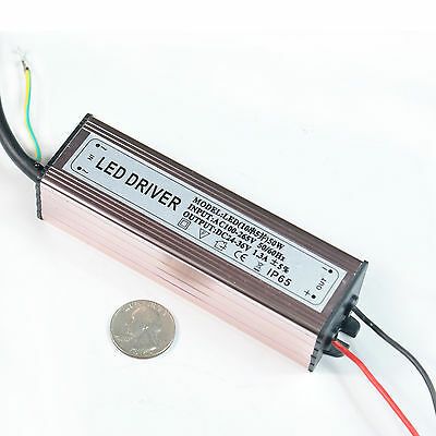 50w Watt High Power Led Driver Ac85v-265v 50-60hz Waterproof Power Supply Driver