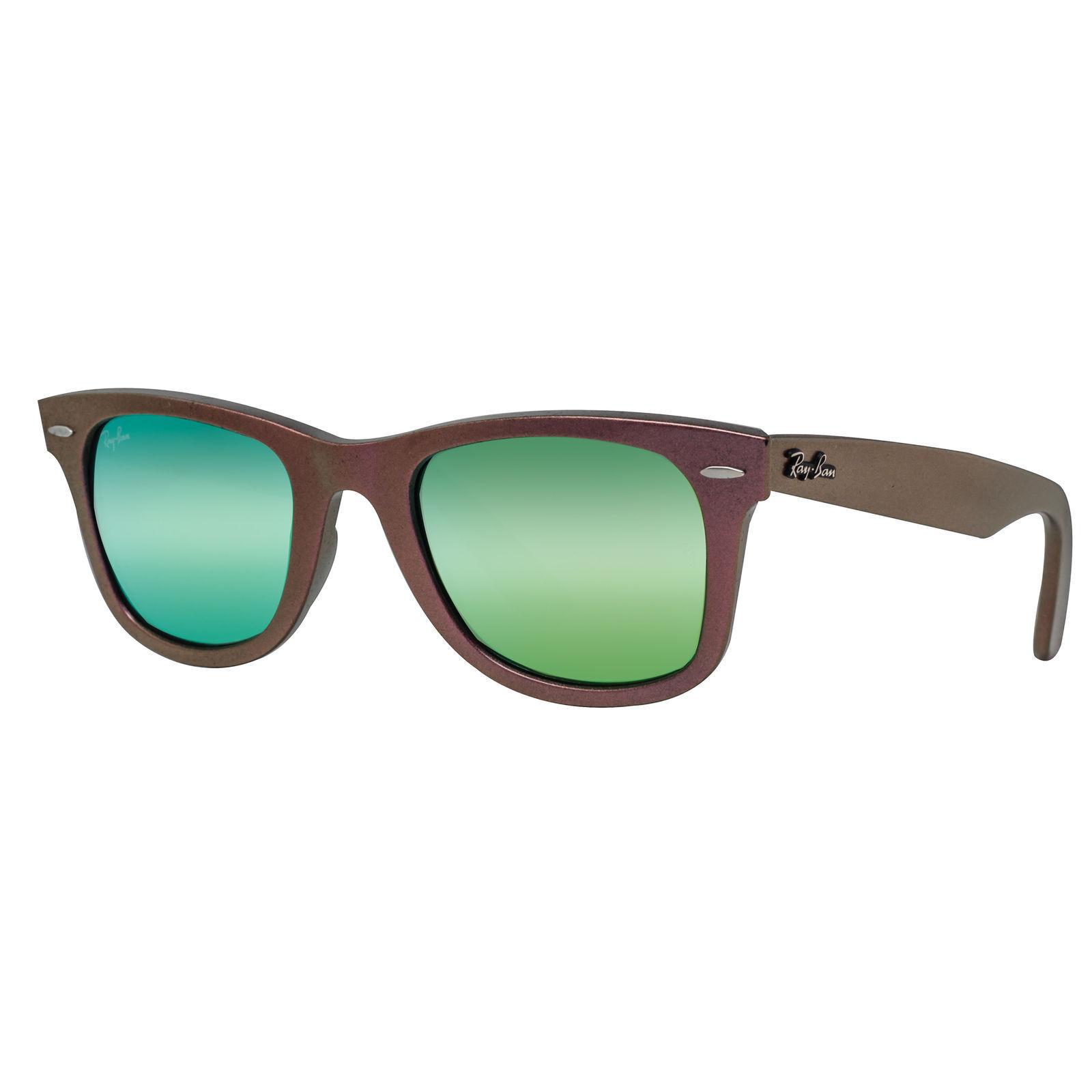 738e3e230775e Details about Ray-Ban Original Wayfarer RB2140 611019 50mm Cosmo Green Green  Flash Sunglasses