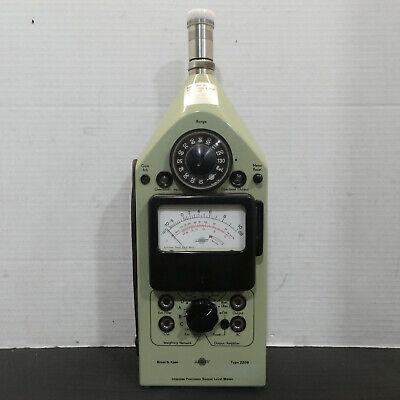 Bruel Kjaer 2209 Precision Sound Level Meter W Carrying Case Testedworks