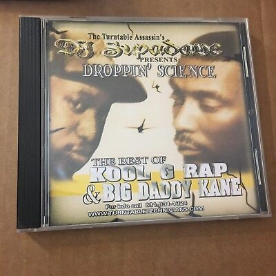 DJ Supadave Best of Kool G Rap & Big Daddy Kane NYC Hip Hop Mixtape MIX