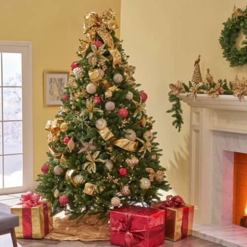 9-foot Norway Spruce Hinged Artificial Christmas Tree Christmas Trees