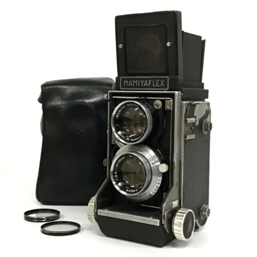 <As IS> Mamiyaflex C2 TLR Film Camera w/ Sekor 105mm f3.5 From JAPAN [TGJ]