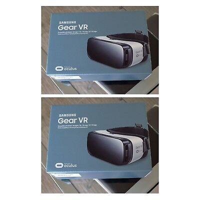 2X Samsung Gear VR Virtual Reality Headset SM-R322NZWAXAR