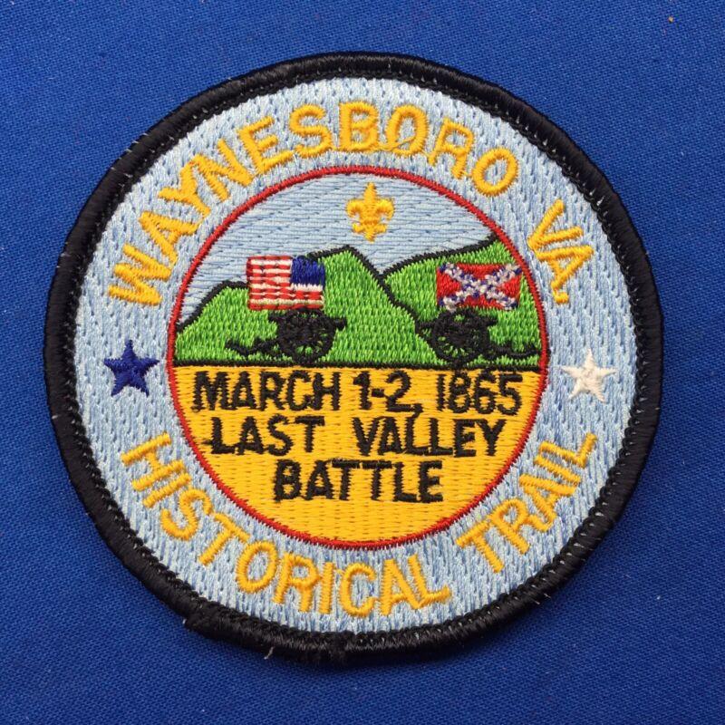Boy Scout Waynesboro VA. Historical Trail Patch
