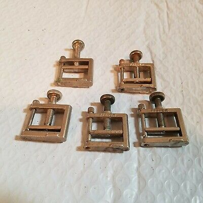 Fisher Open Jaw Compressor Screw Clamp Tubing Clamp 5 Each