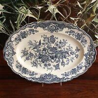 Crown Ducal Inglaterra Bristol En Azul/gris - Placa 36cm X 26,5cm - crown - ebay.es