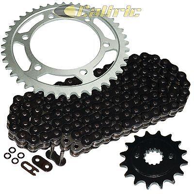 - Black O-Ring Drive Chain & Sprocket Kit Fits KAWASAKI EN500 Vulcan 500 Ltd 96-05