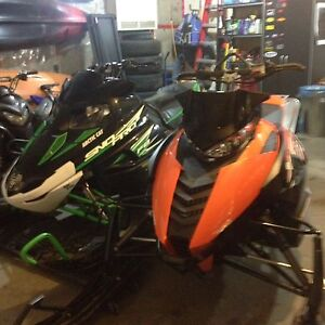 Pretty Much Brand New Arctic Cat 1100 Turbo