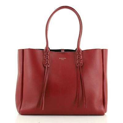 Lanvin Nela Shopper Tote Leather Small