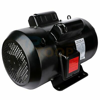 Air Compressor Electric Motor Single Phase 7.5 Hp 4 Pole 1750 Rpm 215t Frame