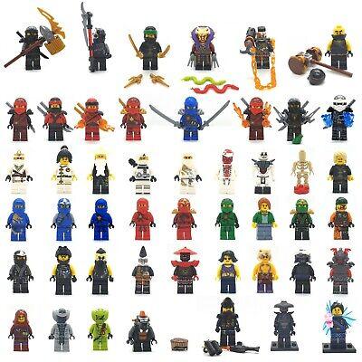 Genuine LEGO Ninjago Some Collectible Minifigures Minifig Cole Zane Kai Lloyd