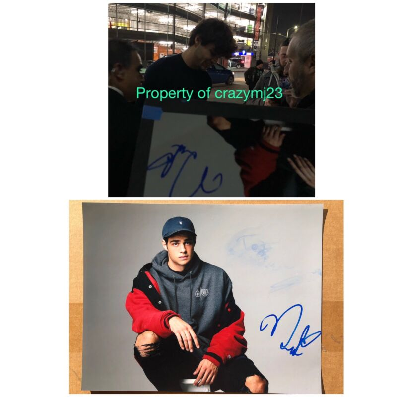 Noah Centineo Signed 11x14 Autograph All the boys I loved Before Sasigned COA