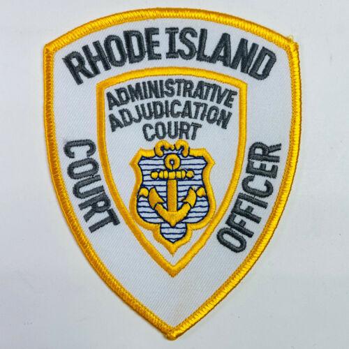 Court Officer Administrative Adjudication Court Rhode Island RI Patch (A1)