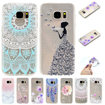 Clear Soft TPU Silicone Gel Ultra Thin Back Case Cover For Samsung Galaxy Phones Clear Silicone Gel Case