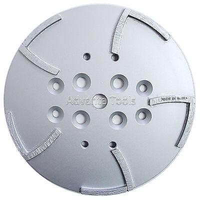10 Premium Grinding Head For Edco Blastrac Floor Grinders - 10 Seg 4050 Grit