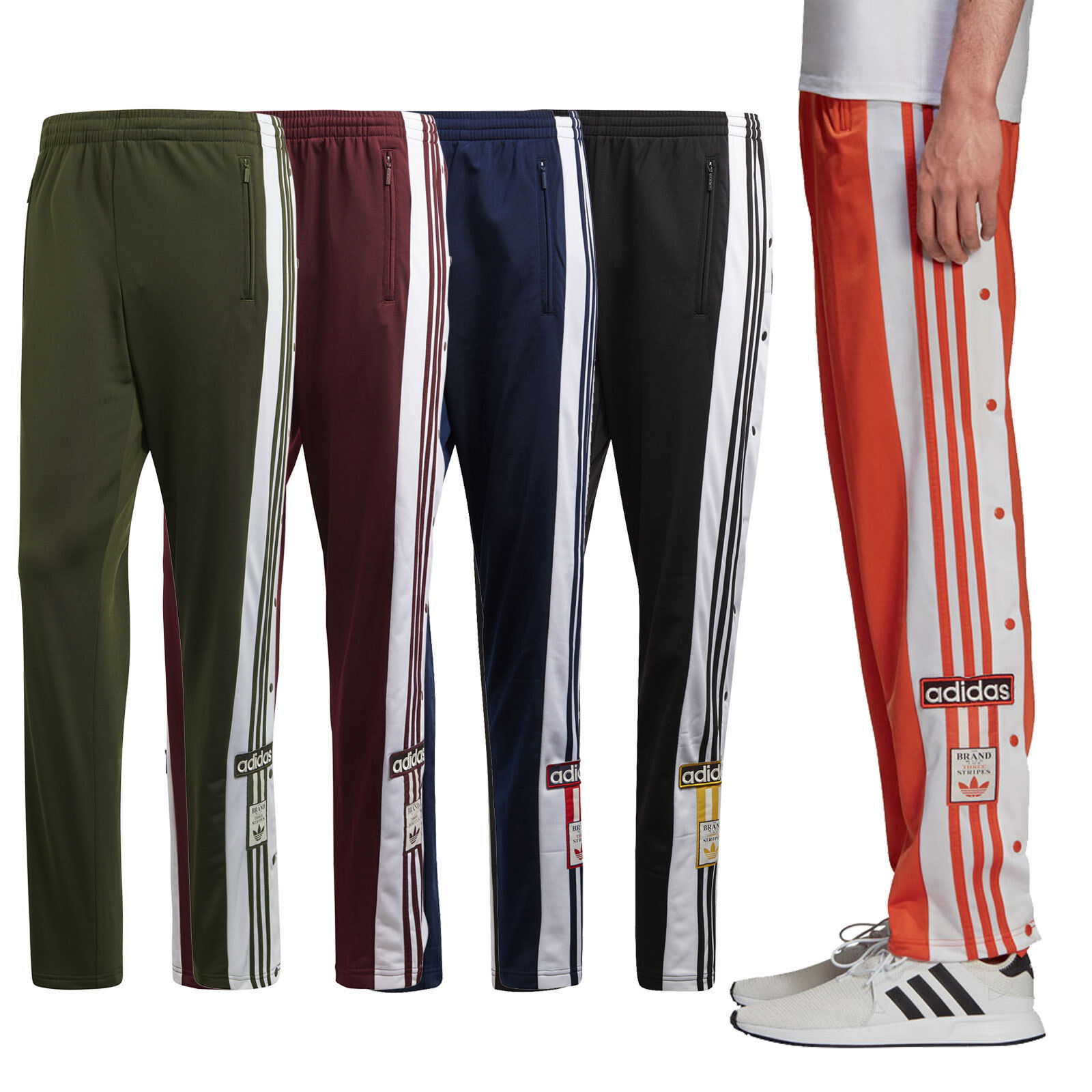 a5a6bff8ce6570 adidas Originals Adibreak Trackpant Herren Freizeit Trainings-Hose  Jogginghose