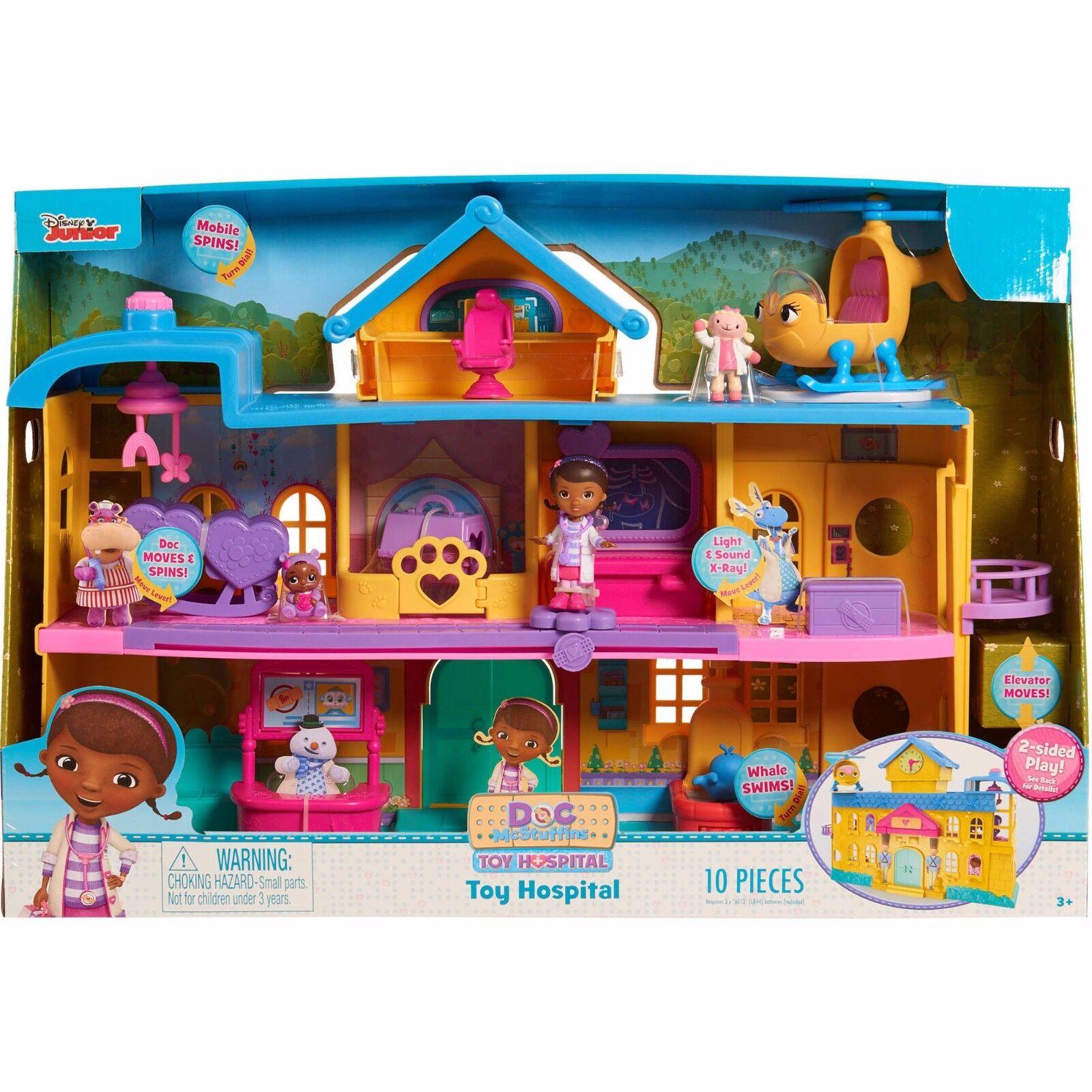 Kupit Disney Doc Mcstuffins Toy Hospital Playset Doll House Na Ebay