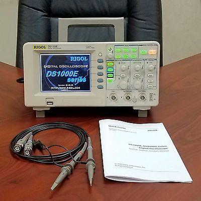 Rigol DS1102E 100MHz 2 Channel Digital Oscilloscope