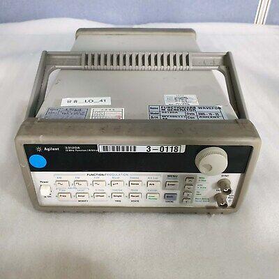 Agilent 33120a 15mhz Function Arbitrary Waveform Generator 33120a