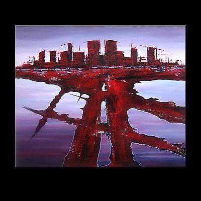 BILD ABSTRAKT MALEREI ORIGINAL ACRYL GEMÄLDE KUNST MODERN UNIKAT ART #A2