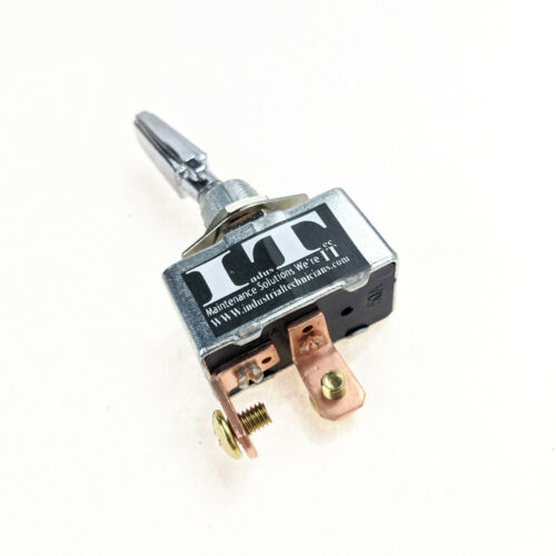 IndusTec 50A 12V - DC Automotive Toggle Switch SPST On-Off Marine High Current