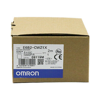 Omron E6b2-cwz1x 1000pr Rotary Encoder New One Year Warranty