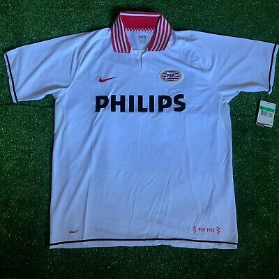 Nike PSV Eindhoven Netherlands JERSEY Shirt TRIKOT Holland Away 2008-09 BNWT XL 09 Away Jersey