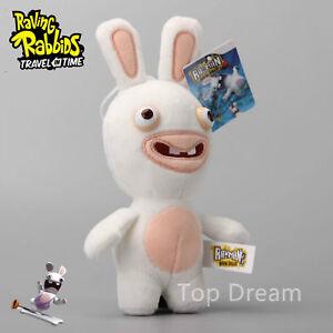 Cartoon Rayman Raving Rabbids Soft Plush Toy Stuffed Animal Doll 7'' Teddy Gift