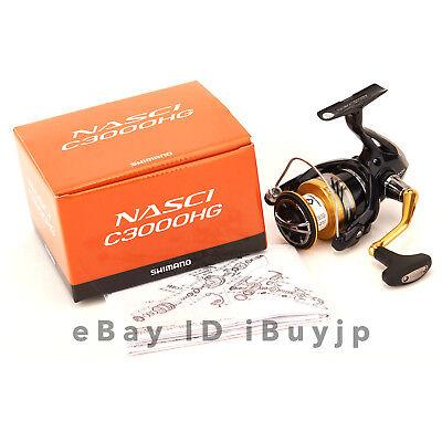 Shimano 16 NASCI C3000HG Saltwater Spinning Reel 035738