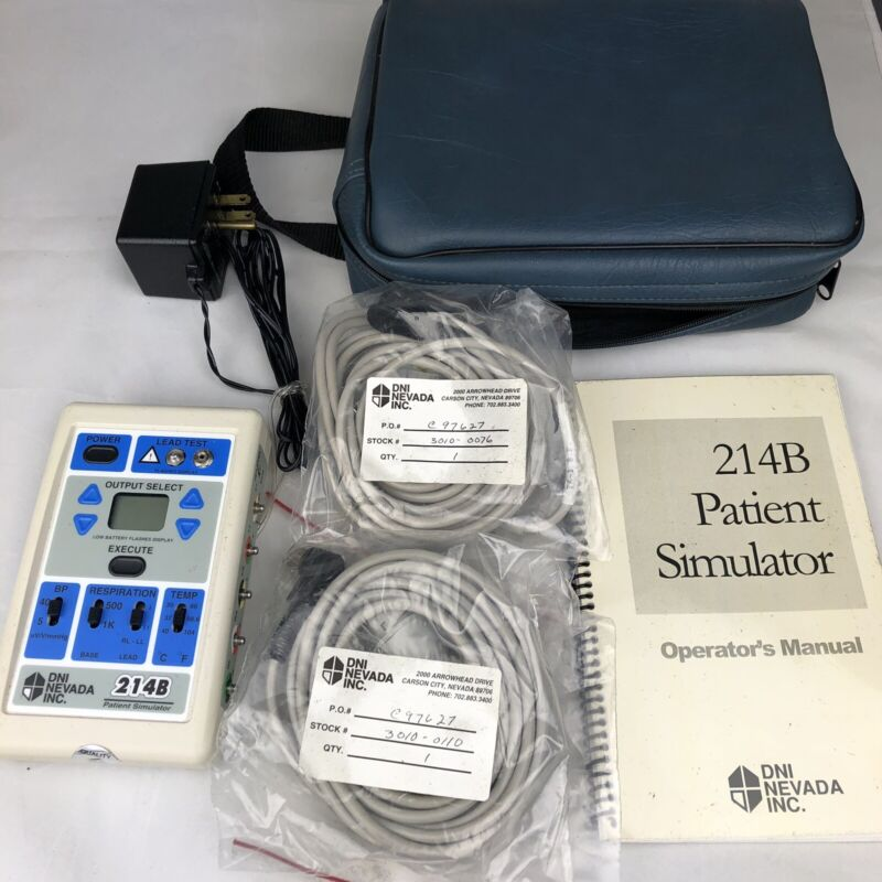 DNI NEVADA INC. 214B Patient Simulator In Case