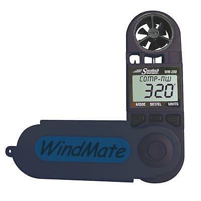 Windmesser Windmate 200 mit integrierter Windfahne Handwindmesser Windsurfen