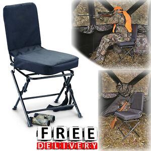 Hunting Blind Chair Swivel 360 Degree Folding Travel Seat Stool C&ing New & Hunting Stool | eBay islam-shia.org