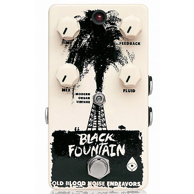 Old Blood Noise Endeavors Black Fountain Delay V2 Pedal