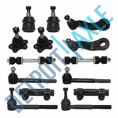 New 14pc Front Suspension Kit for Chevy and GMC Trucks - 2WD ONLY - 7200 GVW