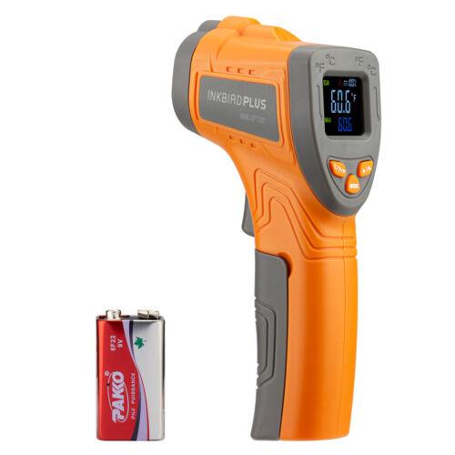 INKBIRD Digital Infrared Thermometer Non-contact Laser Temperature Gun LCD Gauge