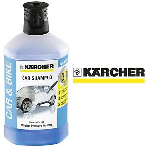 Karcher 3in1 Formula Plug & Clean Car Shampoo Cleaner Pressure Washer Detergent