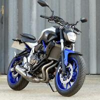 2016 YAMAHA MT-07 ABS, SUPERB ONE OWNER FSH EXAMPLE RECENTLY SERVICED.