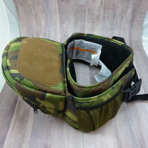 Tushbaby Ergonomic Strapless Baby Hip Carrier 0-36 mos 8-44 lbs CAMO