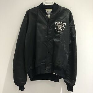 VTG Authentic Pro Line Starter Los Angeles Raiders Bomber Jacket