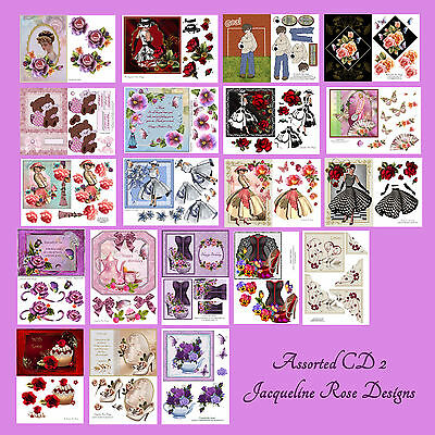 Decoupage Cardmaking CD 2 Assorted