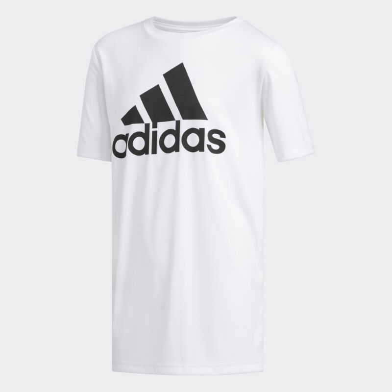 adidas Climalite Badge of Sport Tee Kids