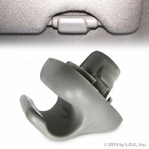 Sunvisor Holder Clip Clear Gray fits Honda Civic CR-V Fit Accord Civic Visor