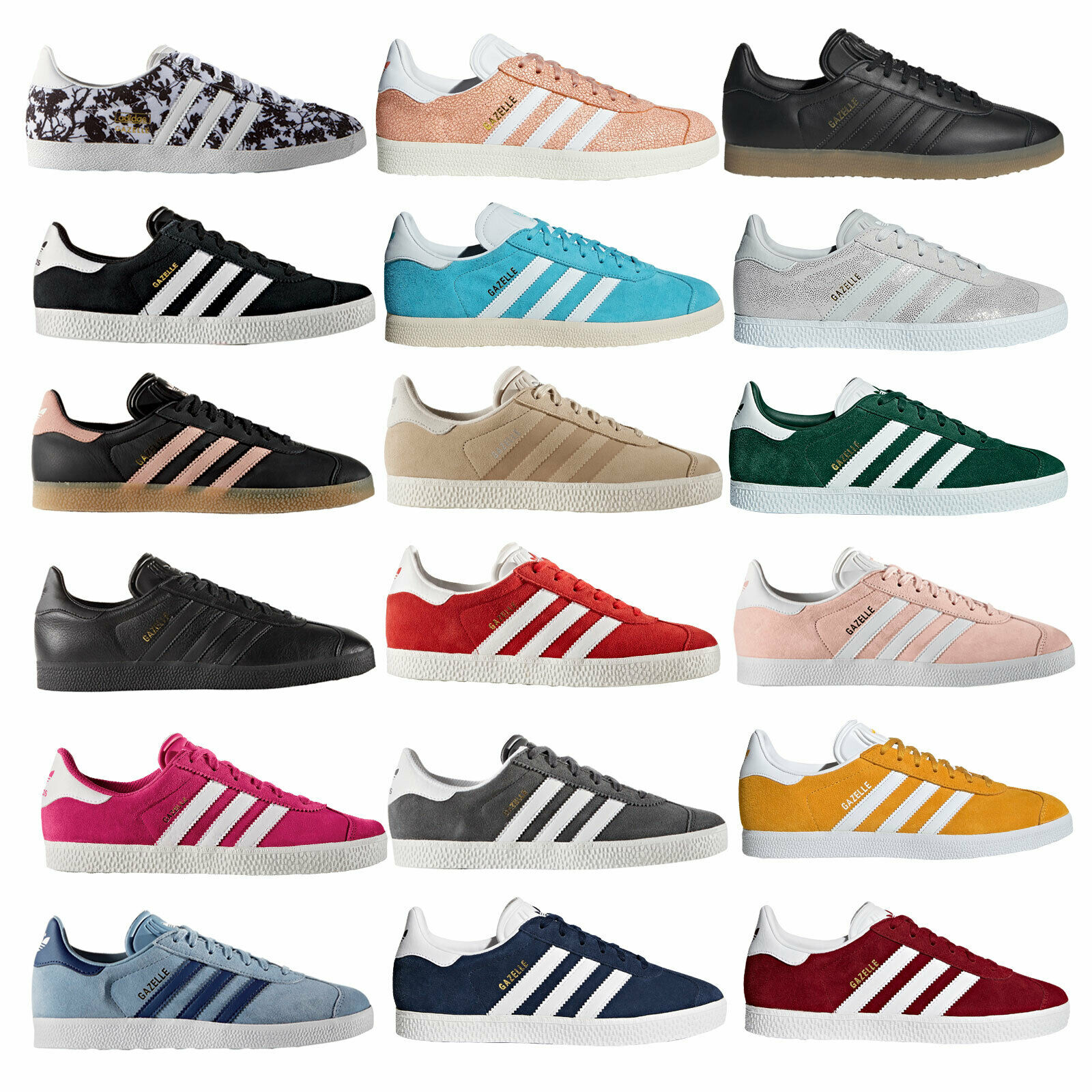 adidas Originals Gazelle Baskets Chaussures de sport femmes & enfants